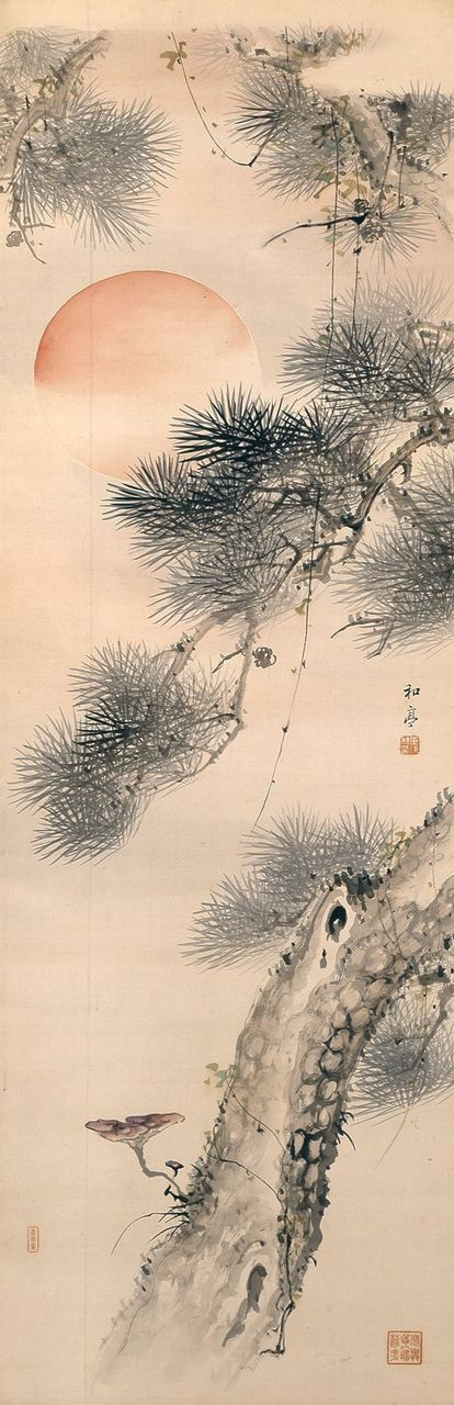 Taki Katei (Japanese, 1830-1901) Memories of Japanese Art history in college in the1970's: