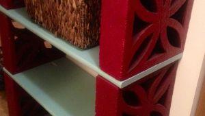 DIY Brick Shelf I Would Do Barnwood For Shelves DIY