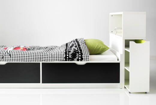 Ikea Flaxa Kopfteil Mit Ablage