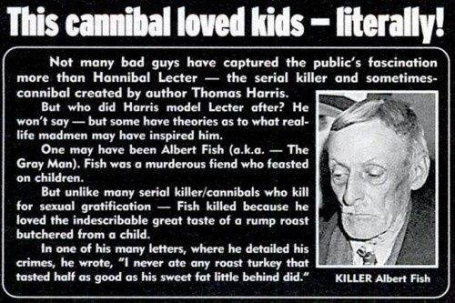 Albert Fish beats Killer Sharks Serial killers