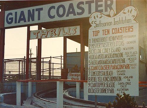 Paragon Park Nantasket Beach Hull MA Things I Like