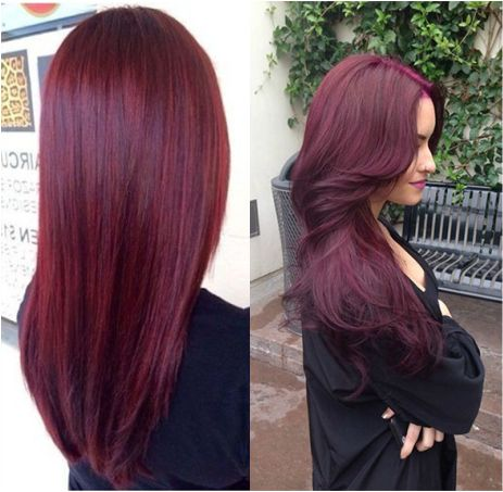 Chocolate Raspberry Hair Color Google Search Hair