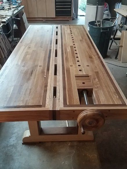 ... Bench on Pinterest | Workbenches, Woodworking bench and Work benches