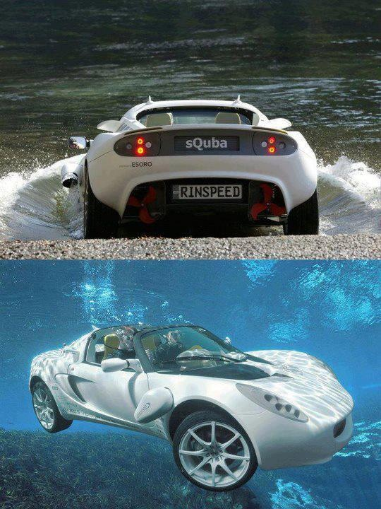 sQuba 2in1 Super Car that can go under water