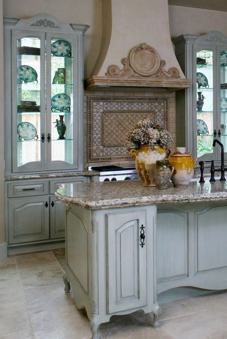 French Style Kitchens Dream