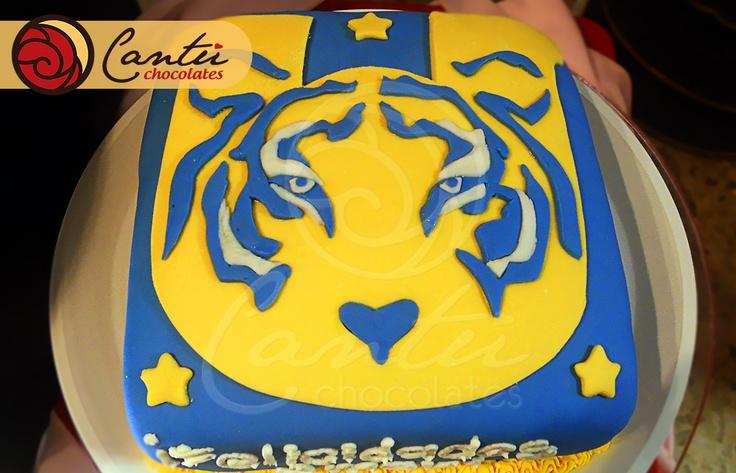 New Logo of Tigres UANL FC Soccer cakes Chivas vs