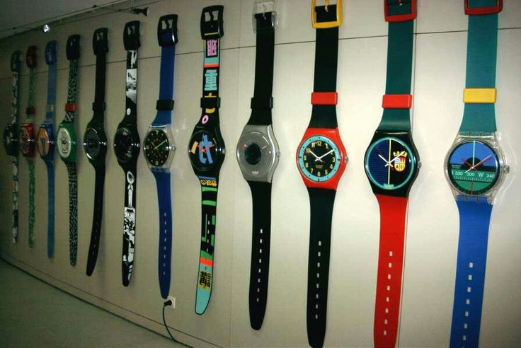 Wall Clocks Swatch And Clock On Pinterest