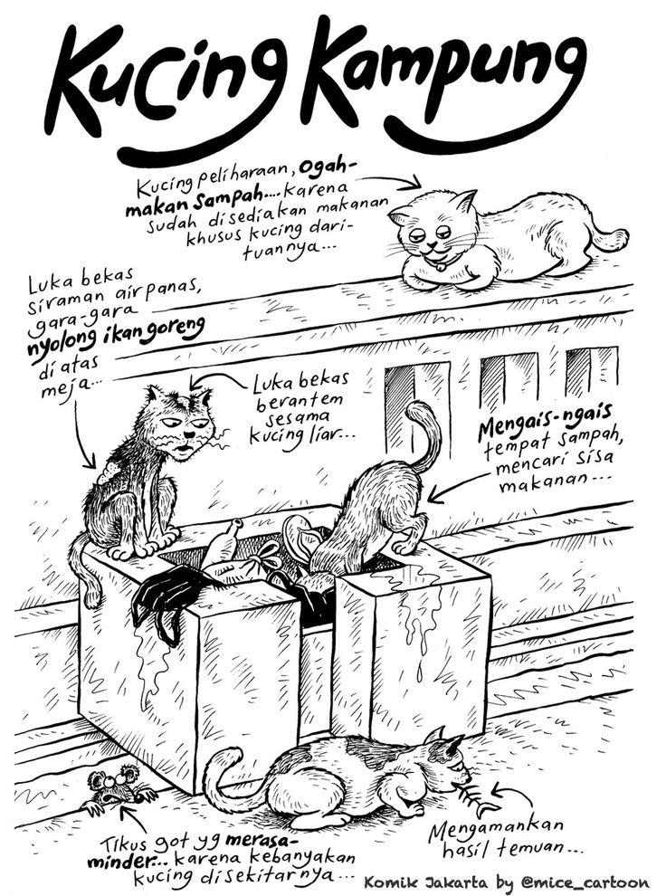 Mice Cartoon, Komik Jakarta November 2015 Kucing