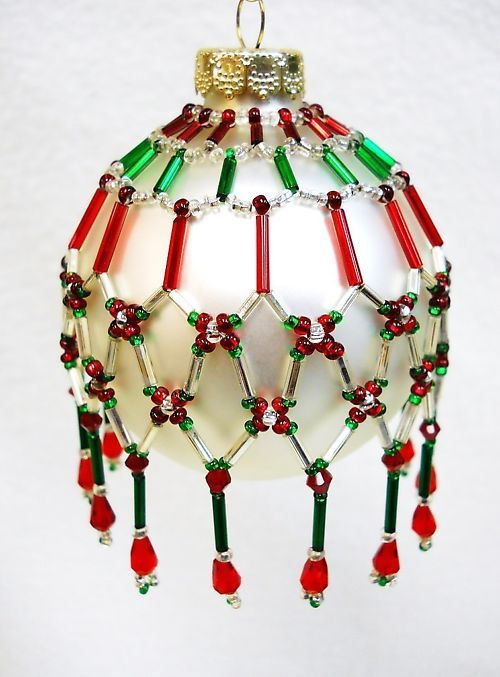 1000 Images About Beaded Ornament Covers On Pinterest