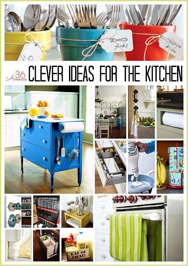 Organization Ideas for the Kitchen Cheap storage, The