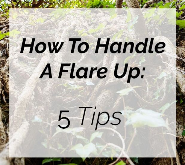 5 tips for handling a fibromyalgia flare up on Fibro Geek: