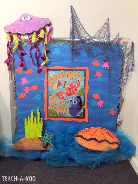 Disneys Finding Nemo Bulletin Board Bulletin Boards Doors Pinterest Disney Awesome And