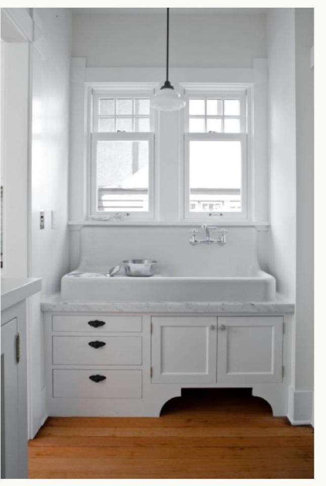 Sanford Cast Iron Wall Hung Sink Bath Pinterest