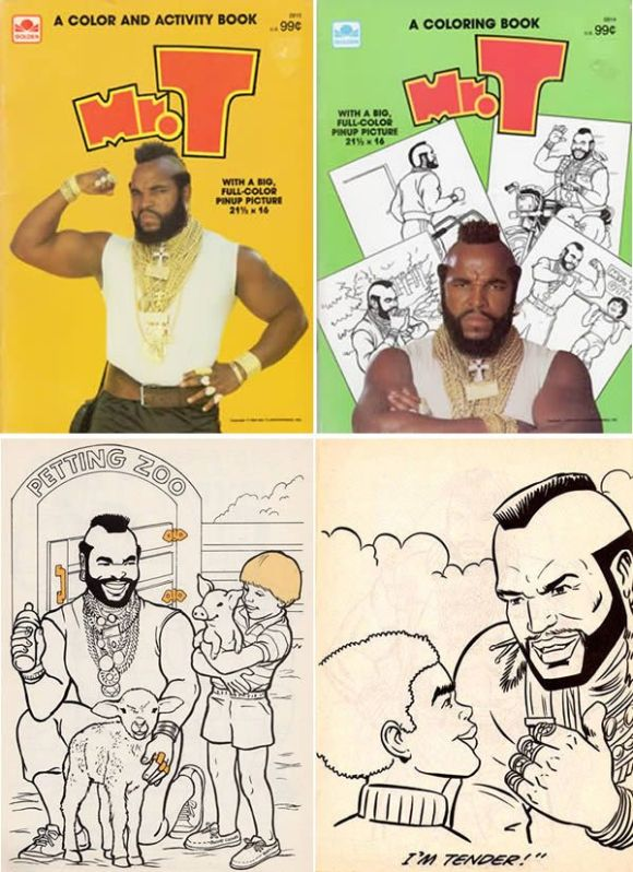 Mr. T Coloring Book