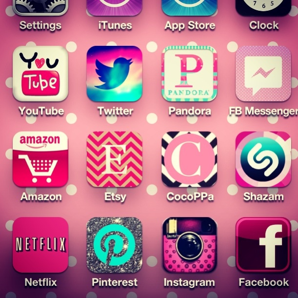 My new Cocoppa home screen! CocoPPa Collection