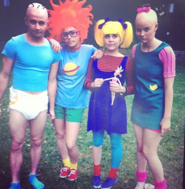 25 Clever Halloween Costumes To Wear As A Group Rugrats