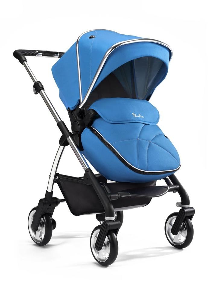Silver Cross Wayfarer Sky Blue pushchair. SilverCross