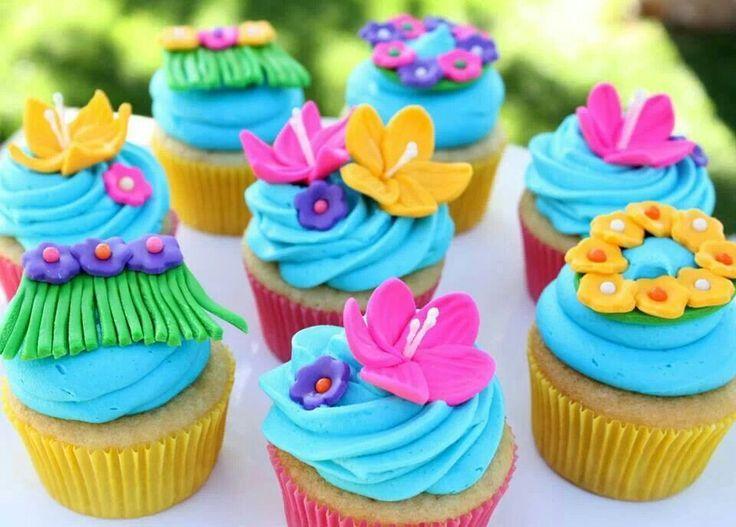 Hawaiian Luau Cupcakes Cake Mix With Pineapple Juice