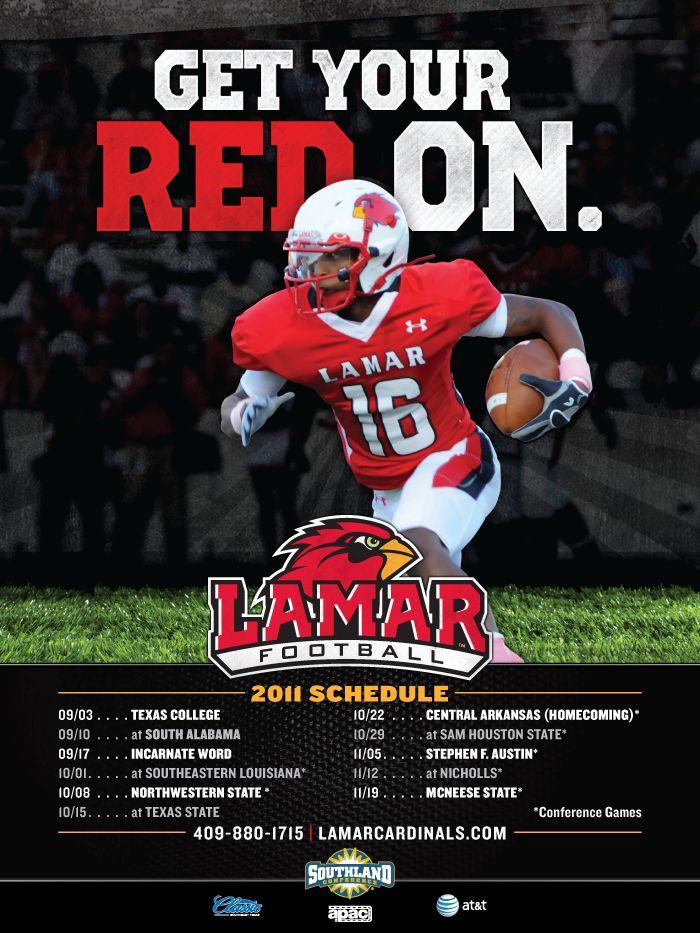 Football schedule idea. Sports Poster Inspiration