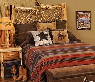 The Tombstone Bedspread Combines Rich Looking Earth Tone