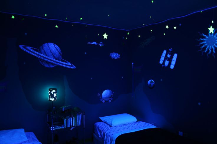 Outer Space Wall Sticker Decals For Boys Room Wall Mural