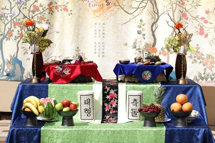 Korean Dol Table Dol Dolsang Pinterest