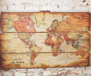 Wood Pallet Map Tutorial – The Idea Room