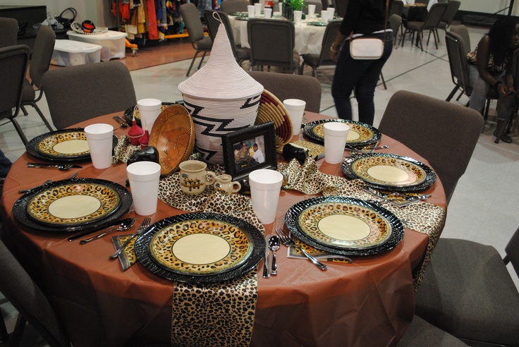 African Table Decoration je t'adore Ethiopian food My