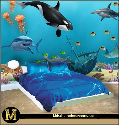 25 Best Ideas About Sea Theme Bedrooms On Pinterest Ocean Themed Rooms 1st Birthday Party Decorations And