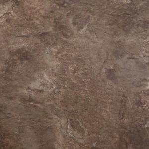 TrafficMASTER 12 In X 12 In Peel And Stick Chestnut Blended Slate Vinyl Tile SS1217 At The