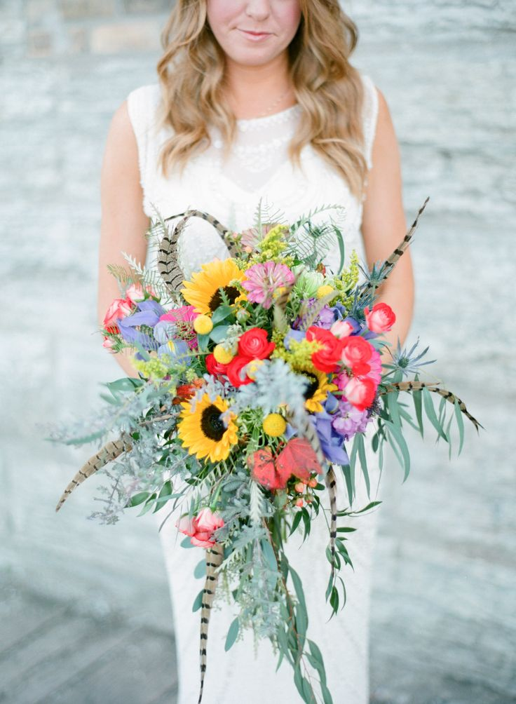 Simple Fall Wedding Bouquet Ideas