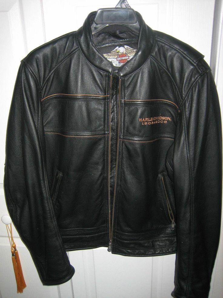 HarleyDavidson® Men's 105th Anniversary Leather Jacket