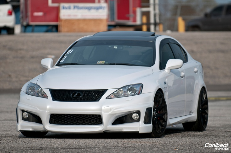 The Lexus ISF, from the Fsport line from Lexus is a