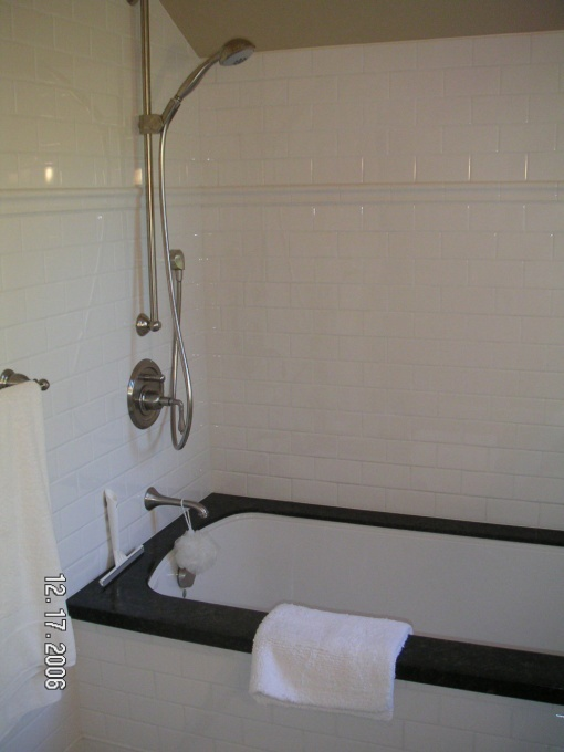 Undermount Tub With Granite Surround For The Home
