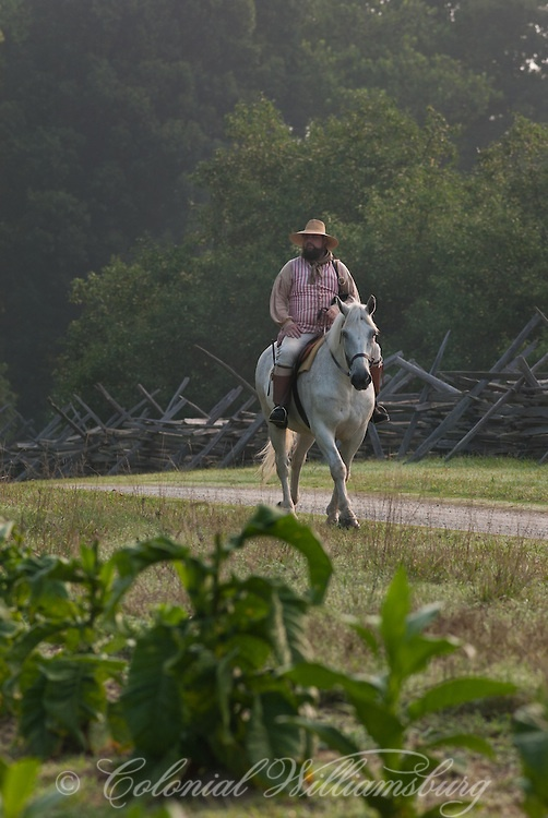Travel back in time to Colonial Williamsburg, VA the