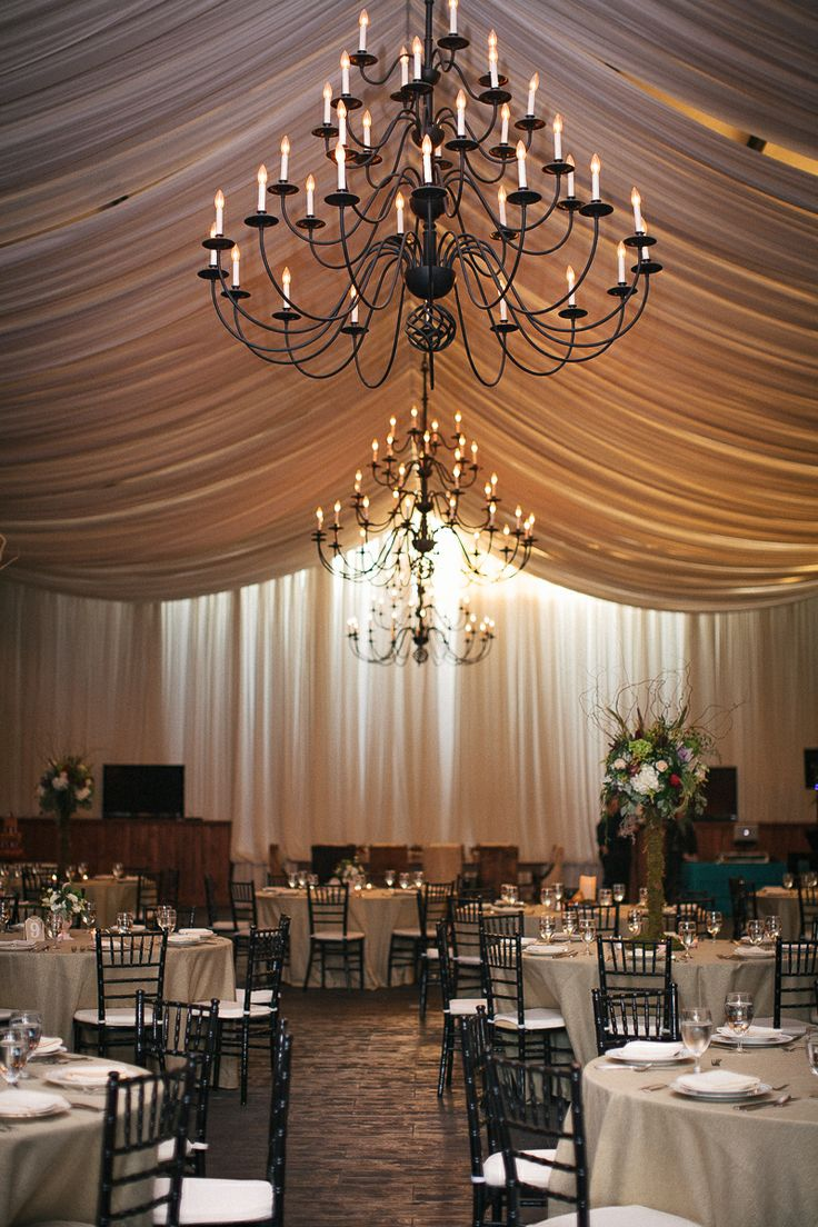 Elegant Barn Wedding Barn Draping Adaumont Farm