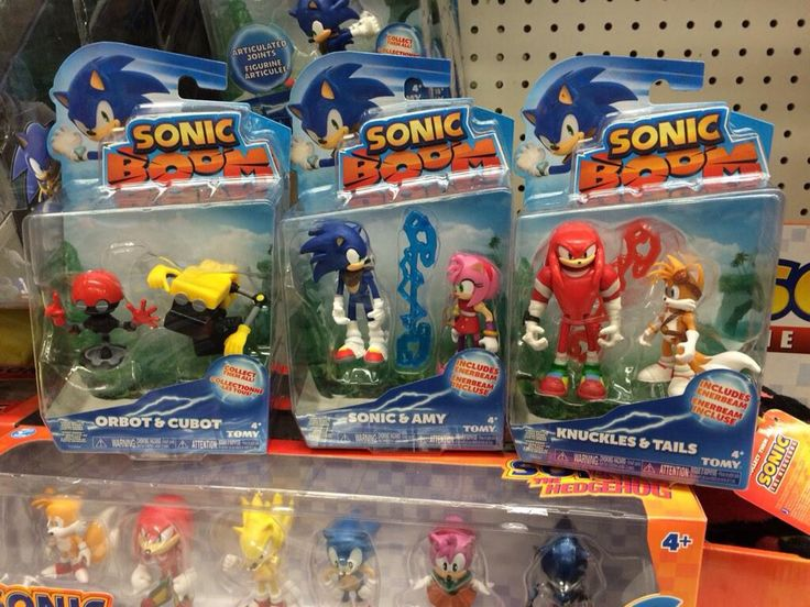 Look At All These New Sonic Boom Toys Im In Heaven