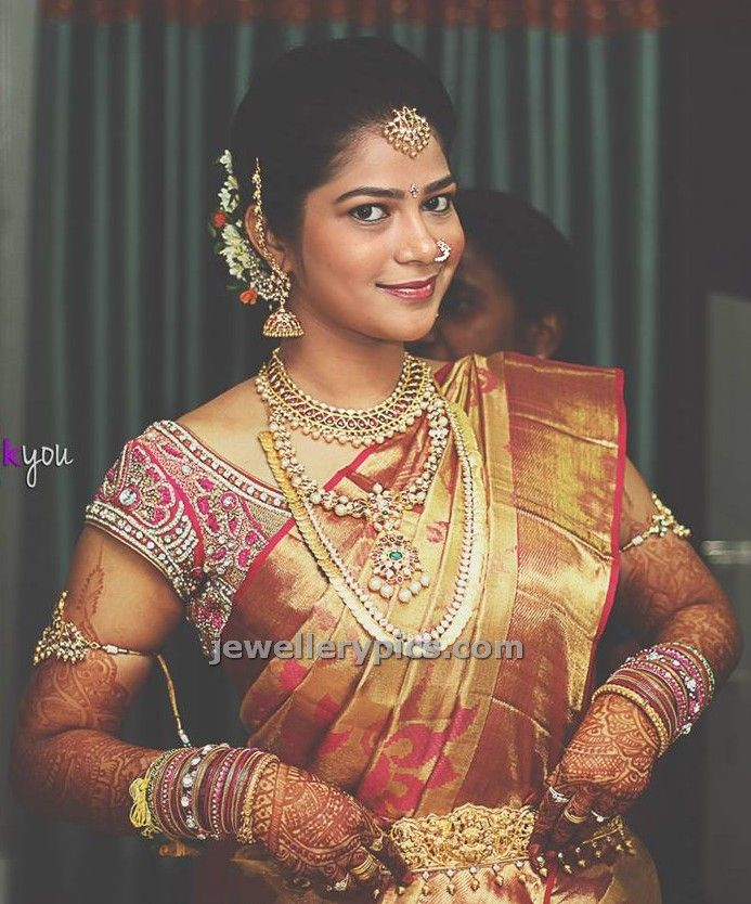52 Best Images About Jewellery For A Telugu Wedding On