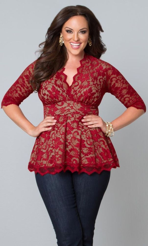 17 Cute Valentine's Day Outfits for Plus Size Women: