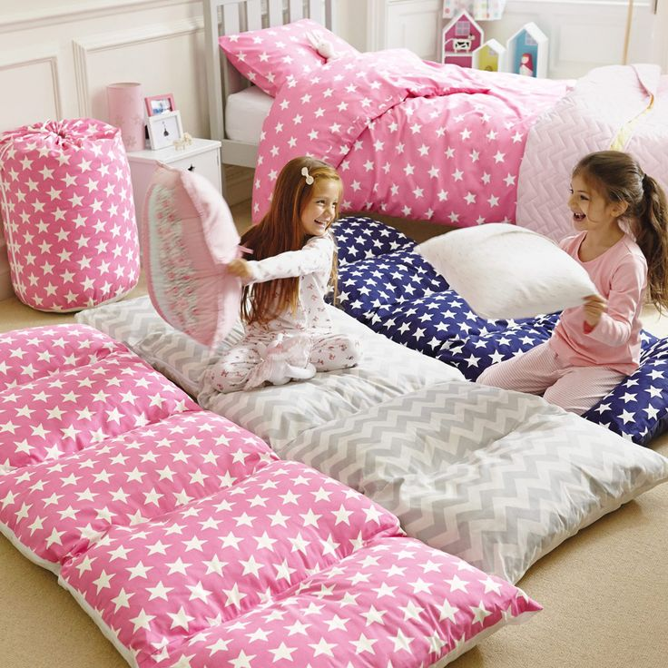 sew pillow cases together for a a pillow mattress, could