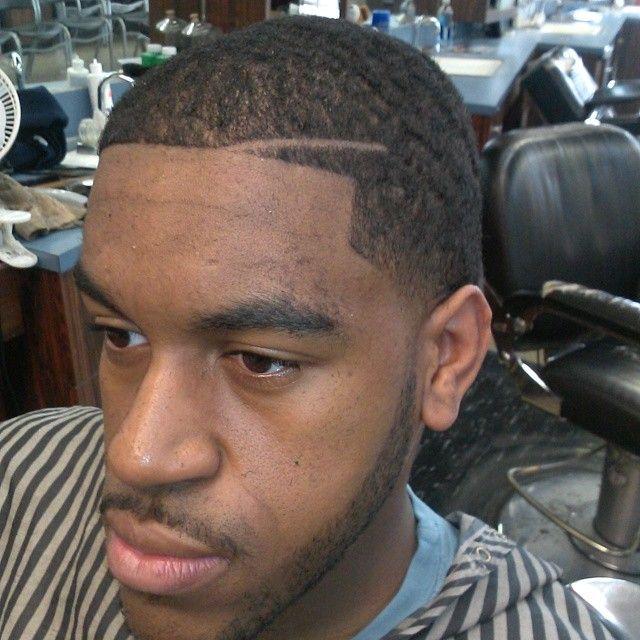 Tapered Number 2 Haircut Black Man Novocom Top