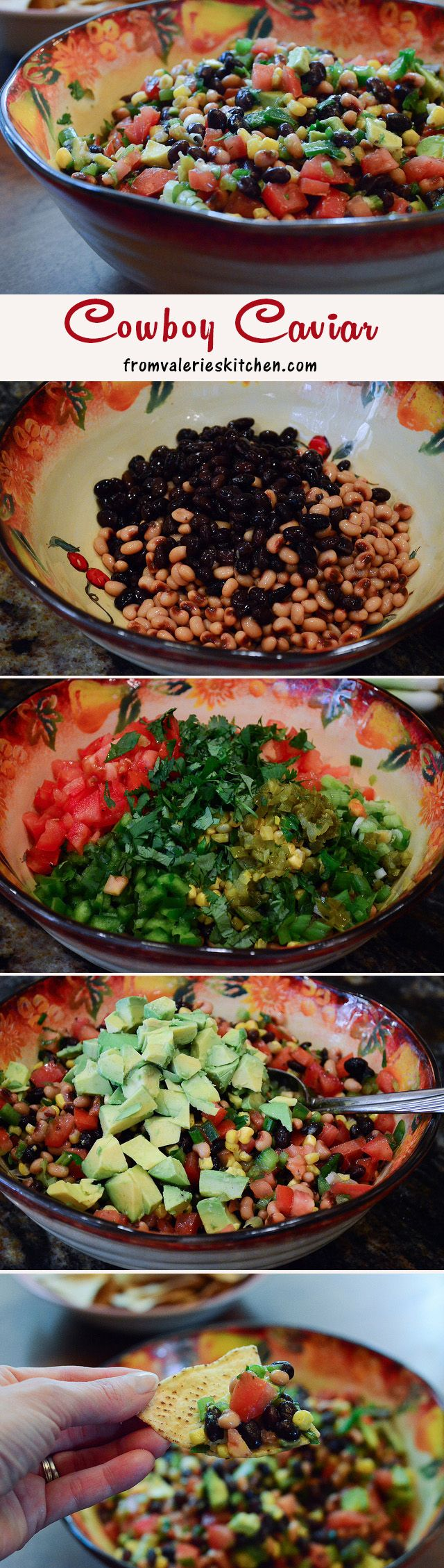 Cowboy Caviar – a fresh, healthy, DELICIOUS appetizer