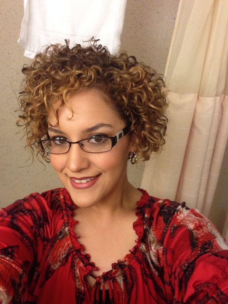 Short curly hair bob/asymmetrical cut Curly hair routine