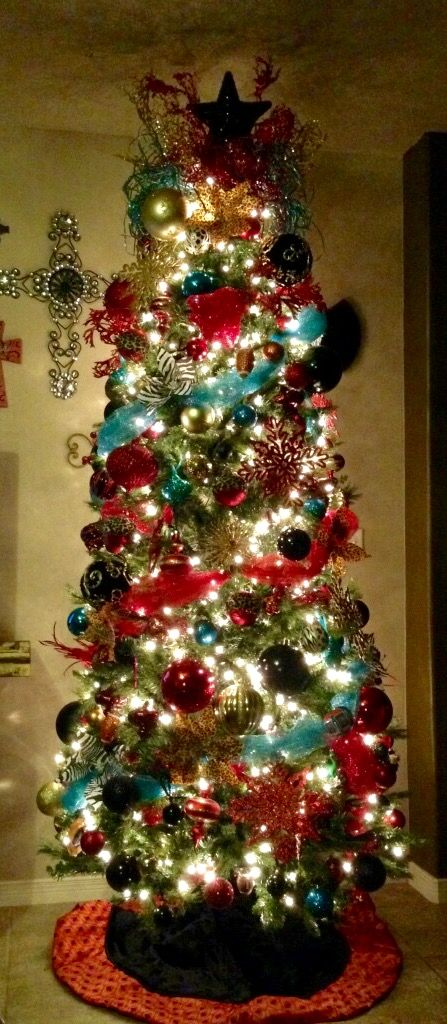 15 Ombre Christmas Trees And Tree Decor Ideas Shelterness