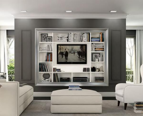 25+ Best Ideas About Wall Mounted Tv On Pinterest