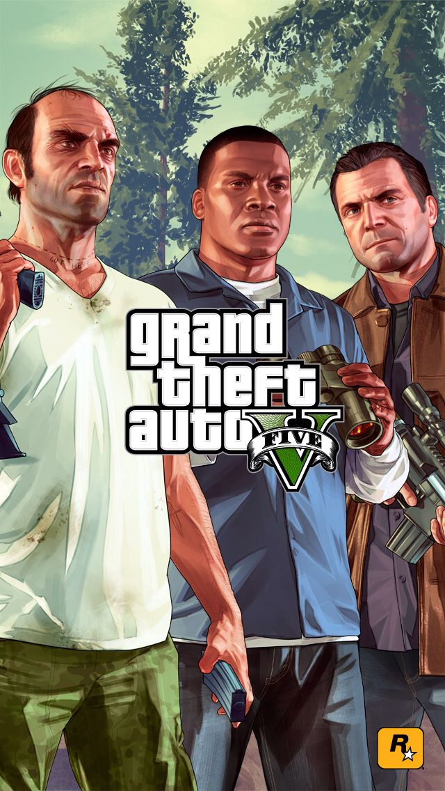 Trevor, Franklin and Michael GTA 5 Pinterest Wallpapers