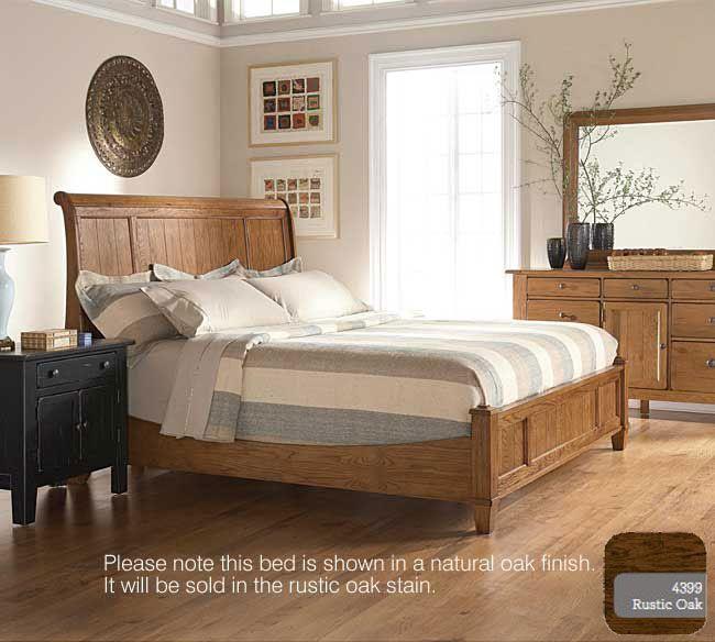 Broyhill Attic Heirlooms 4399 Sleigh Bedroom Set SHERA