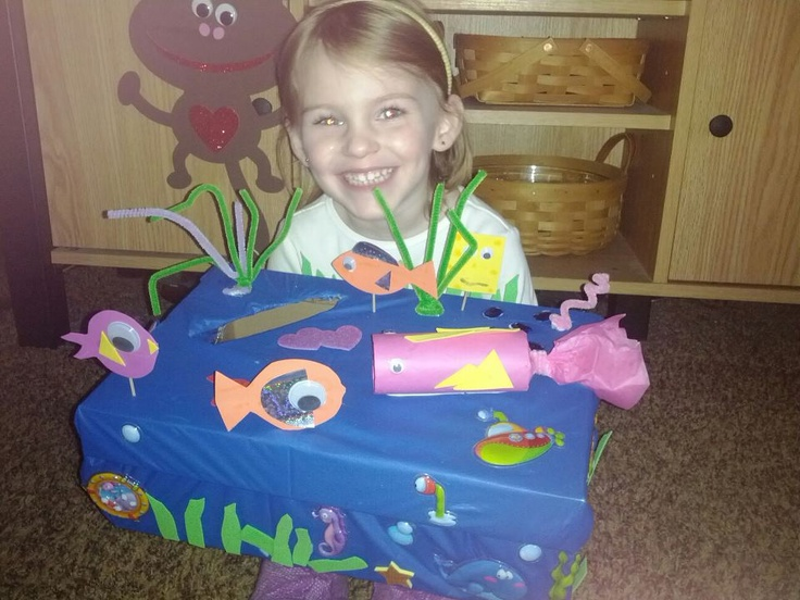 The Little One With Her Valentine Box Craft Ideas