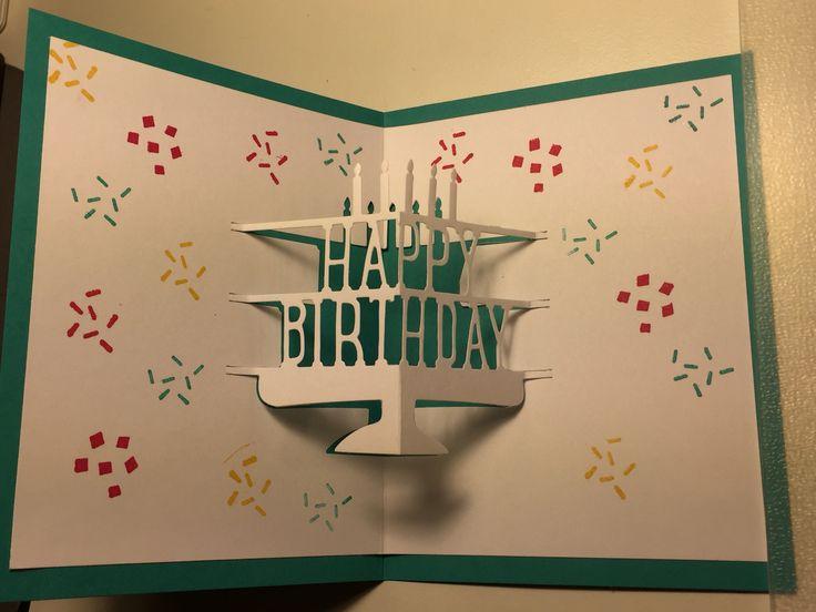 Stampin Up Party Pop Up Thinlit Die Stampin Up Birthday