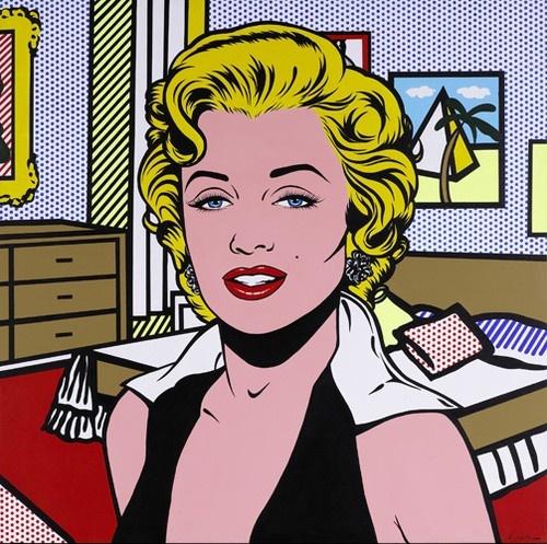 Lichtenstein Marilyn Monroe Roy Lichtenstein